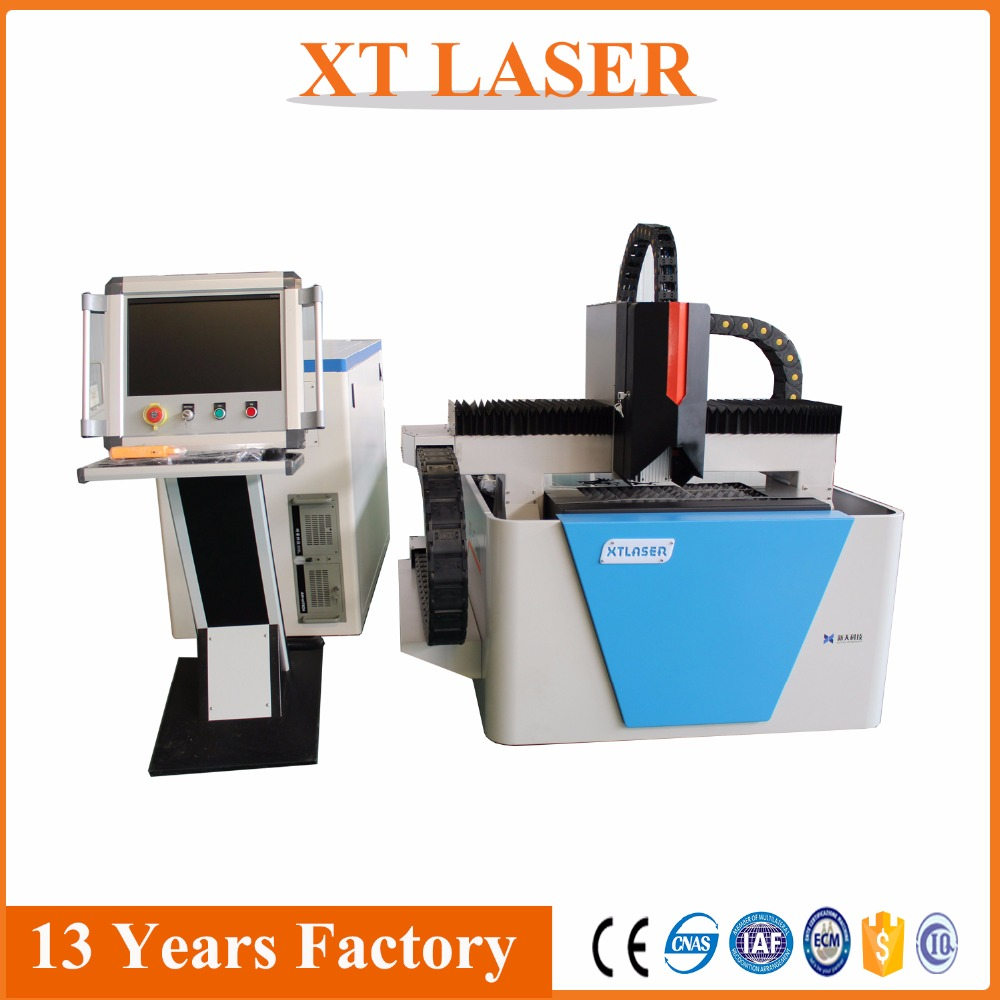 500w IPG fiber laser cutting machine small cover for DIY metal cutting