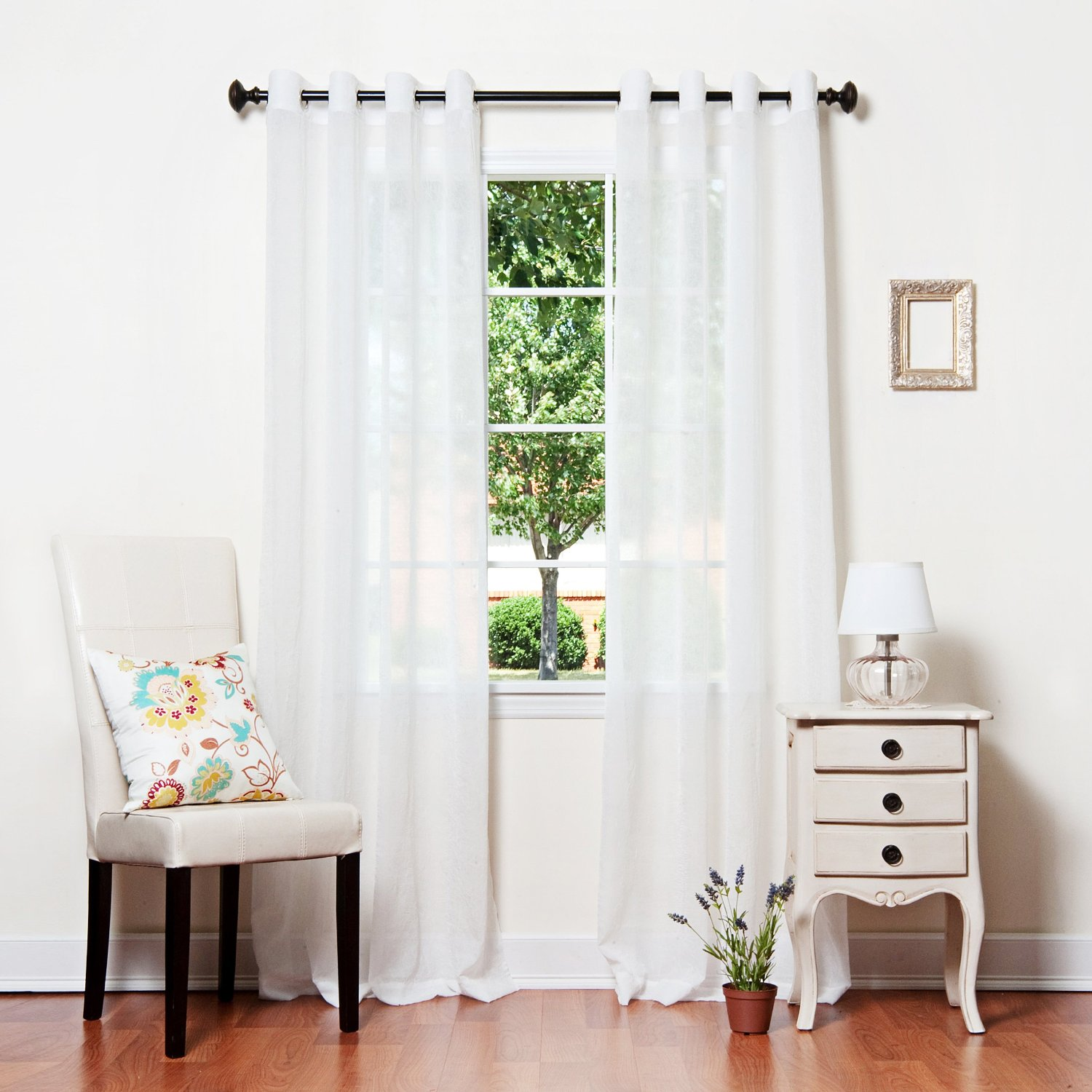 panels panel white sheer colour grommet seller set organza curtains curtain best of