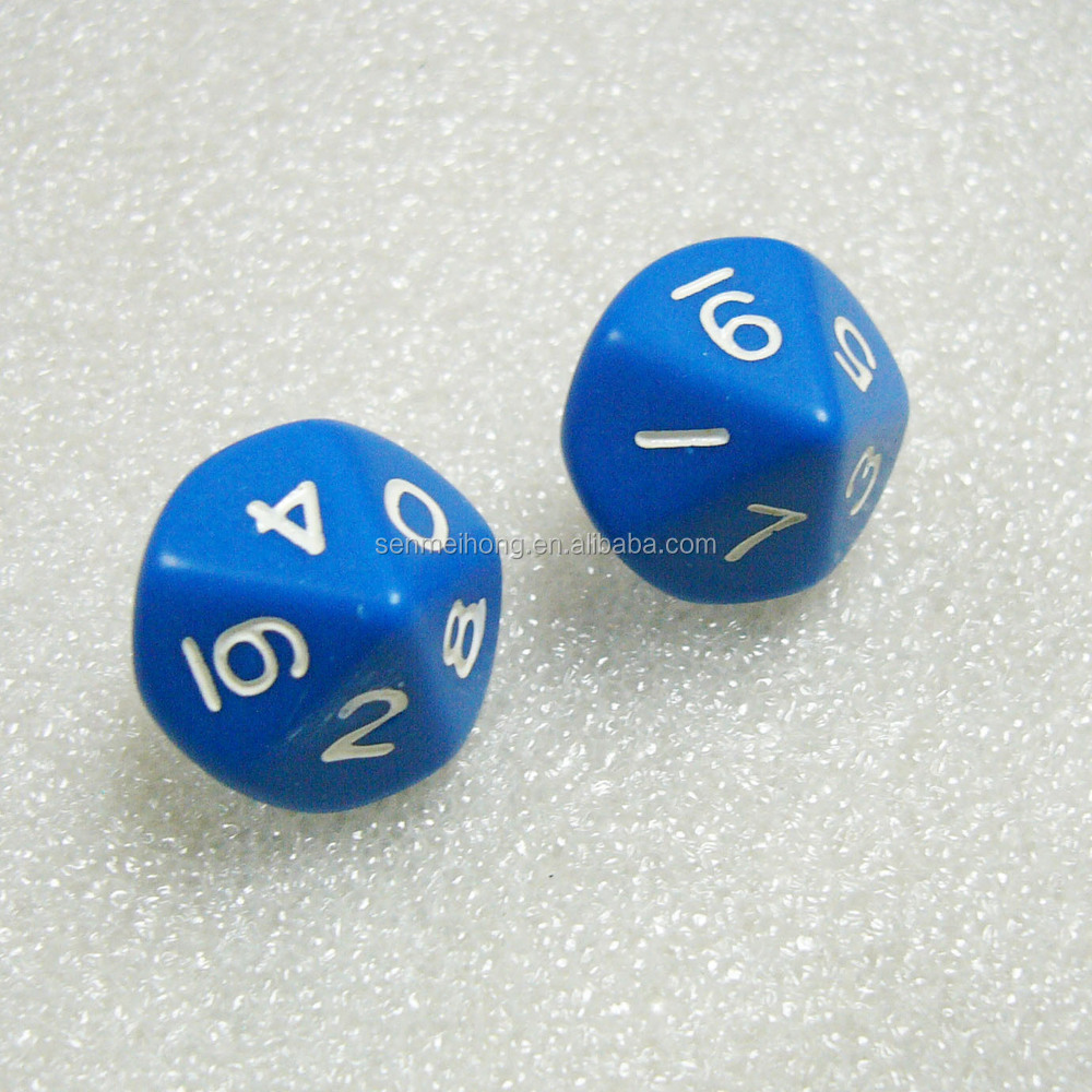 Pure Colored Unique Custom 10 Sided Dice Wholesale - Buy ...