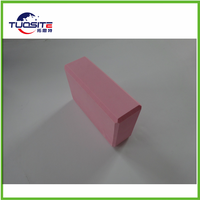 2016wholesale colourfulcustom logo eva cork bamboo non toxic yoga block