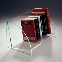 Clear Wall Mounted Acrylic Book Shelf Display - Buy Clear Acrylic ...