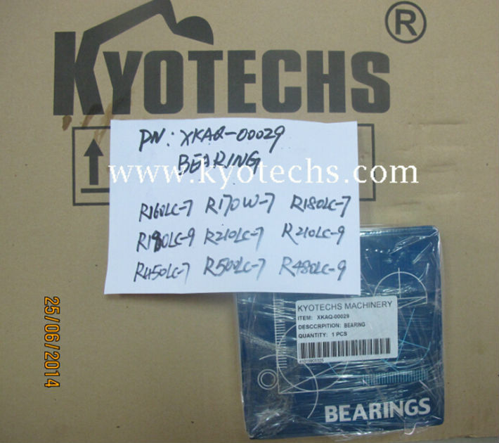 XKAQ-00026 BEARING FOR R210LC-7 R160LC-7 R180LC-9 R200W-7
