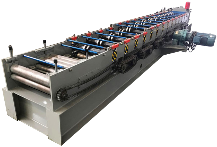 Size Changeable C U Z L Type Purlin Cold Roll Forming Machine