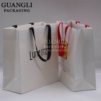 GL factory promotional jewelry packing bags storage paper craft bags