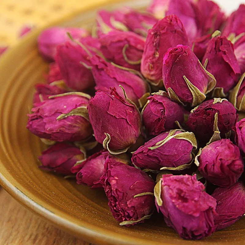 High quality organic dried rose buds private label rose bud tea health rose buds flower tea