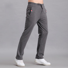 hot selling mens casual pants cotton elastic custom print wholesale blank jogger track pants