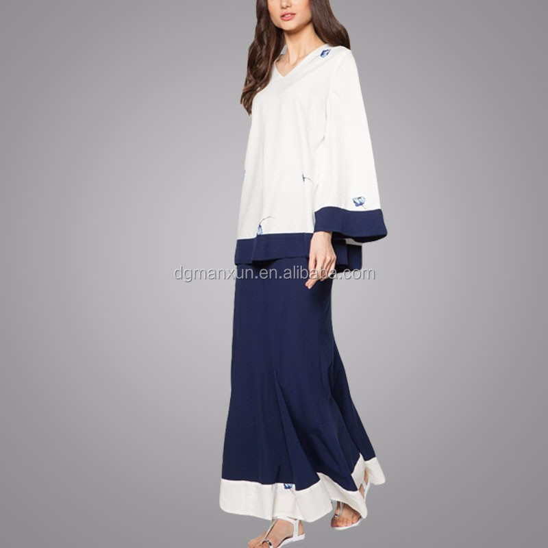 2016 Latest Design Moden Fashion Fancy Fashion Print Model Baju ...