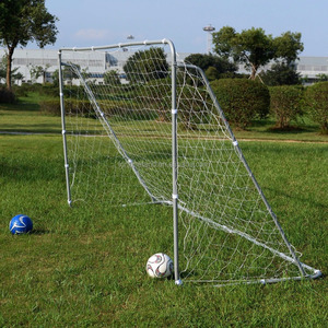 Soccer Goal 12' x 6' Football W/Net, Anchor Ball Training Sets
