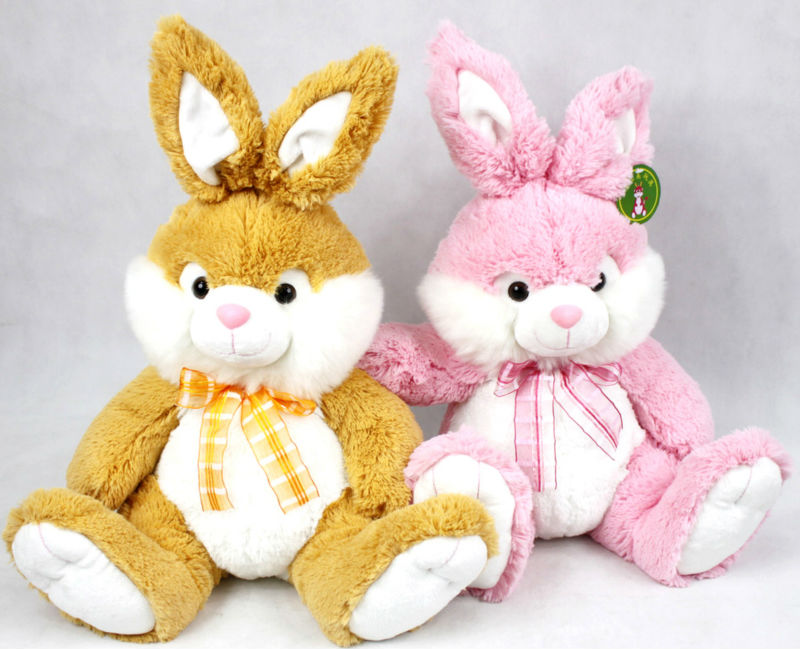 wholesale plush animal toys stuffed soft easter rabbit bunny manufacturer