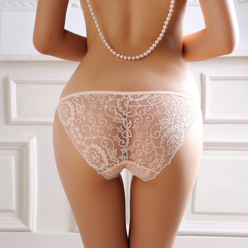 panties lace Mature through see