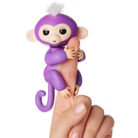 Creative Fingerlings Interactive Baby Monkey Smart Colorful Fingers Llings Electronic Toys Children Kids Christmas Gifts