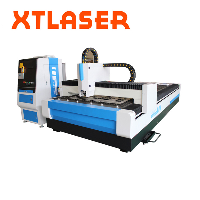 3000W Opening Type Fiber Laser Cutting Machine With saw tooth Working Table