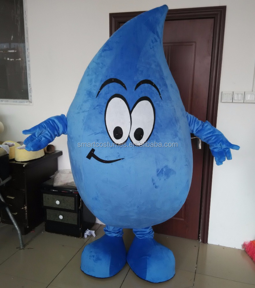 funny water drop mascot costume adult water costume