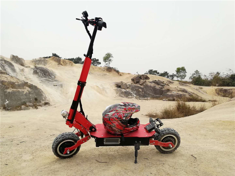 Wholesale Newest 60V 5000W 11 inch Folding Electric Scooter with 95KM/H