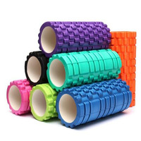 Premium High Density Foam Roller EVA with Grid Roller for Painful Yoga Wheel