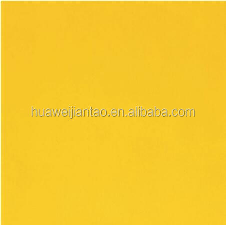 600x600 Pure yellow CE quality ceramic tiles 2016 NEW Pure yellow glazed floor tile/