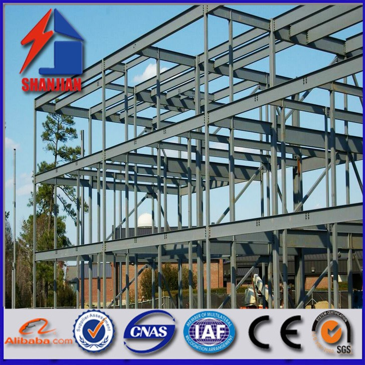 Construction fabrication building steel structure