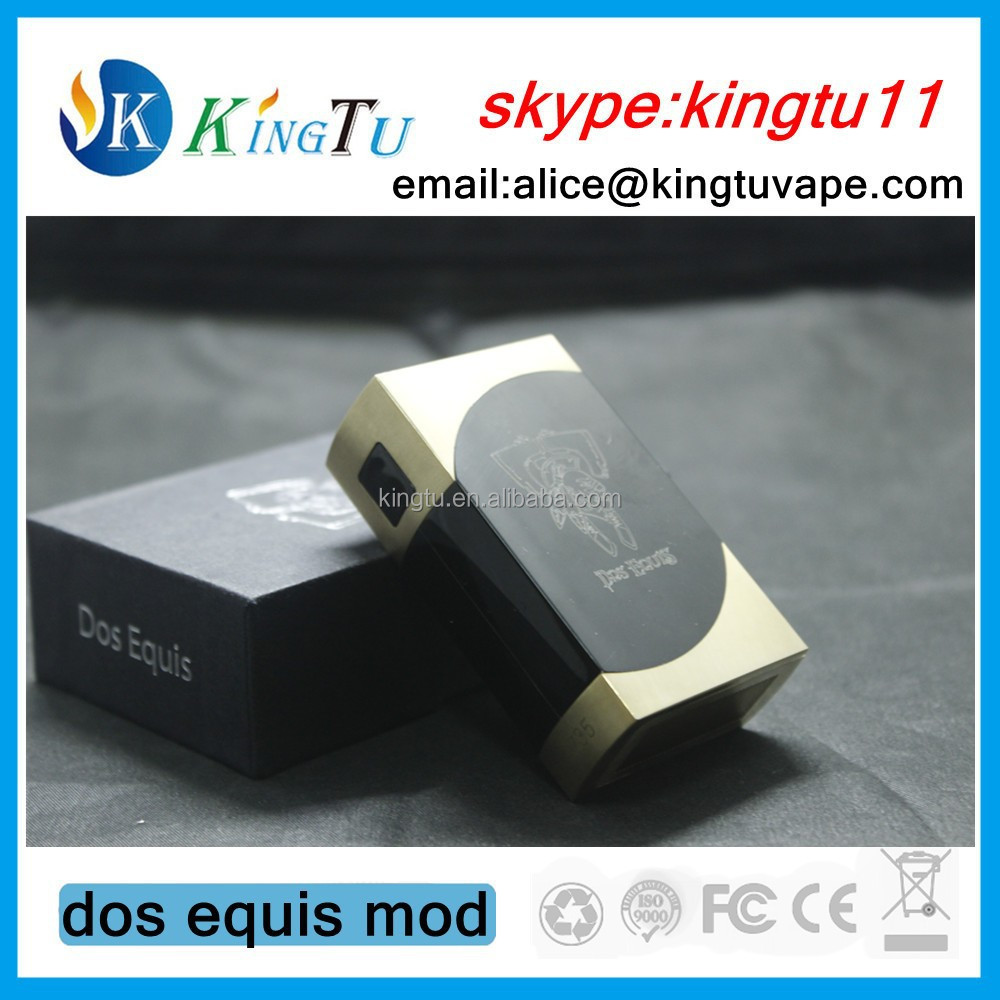 goft box packing new design box mod dos equis mod 1:! clone dos equis