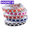 Pet Cat Supplies Cheap Round Spot PU Dog Collar Pet Wholesale