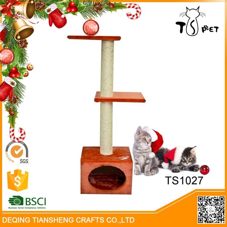 Christmas Decorating Hot Selling Good Reputation Cat Climbing Trees