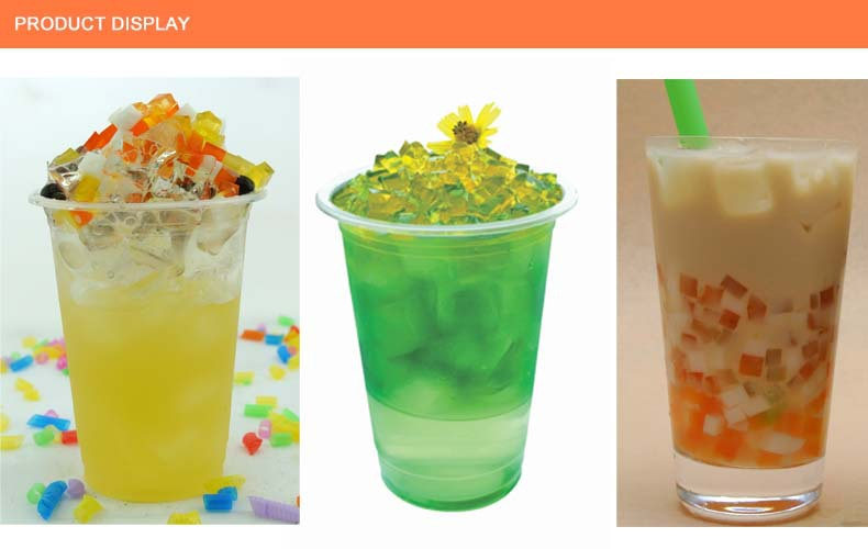 Bubble Tea Jelly Green Tea Jelly Topping Jelly For Bubble