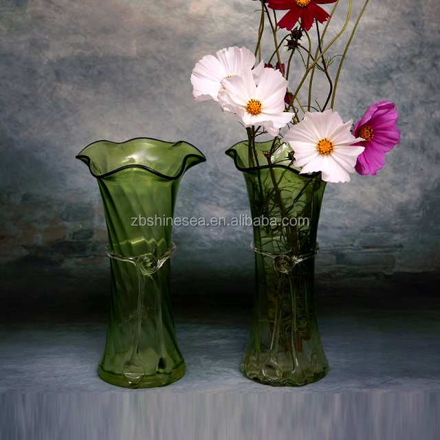 China Green Glass Flower Vase Wholesale Alibaba