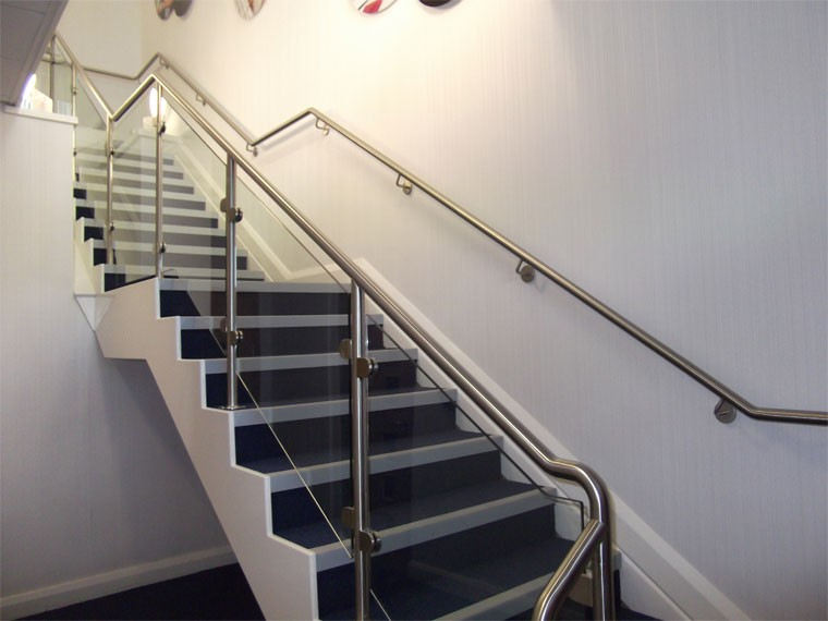 Stainless Steel Handicap Stair Rails For Stair Railing/post/pipe/balustrade