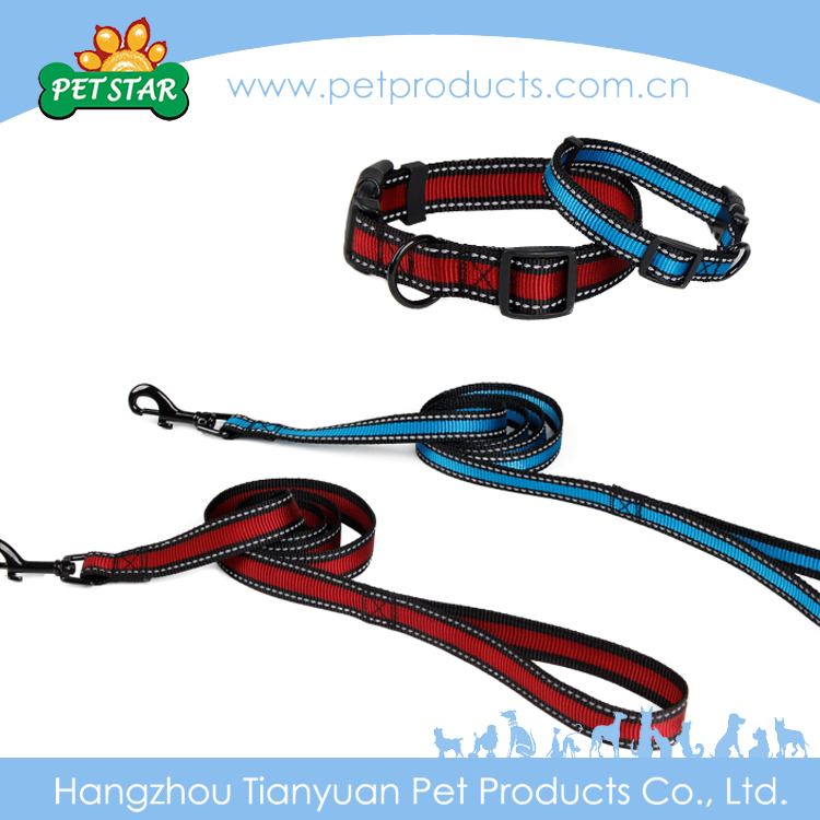 Fashionable High Quality Factory Price Wholesale Dog Collars And Leashes Metal Buckle