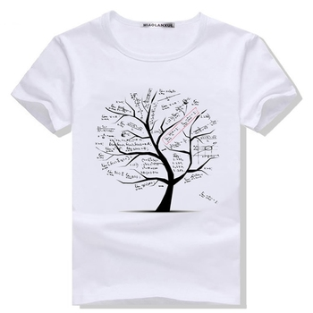 Mixed cotton brand men's wear printing T-shirt youth fashion brand short-sleeve youth clothing