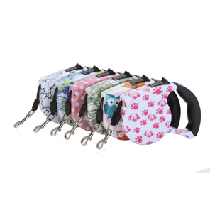 Ready To Ship Pet Product Retractable pet Leashes for Pet Running