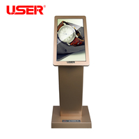User brand oem floor stand indoor advertising digital signage for shopping mall display