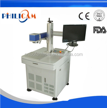 PHILICAM 10w 20w fiber laser marking machine/fiber laser marking macine price for metal