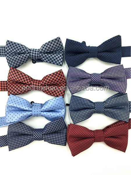 100% Polester Woven Bowties Collection
