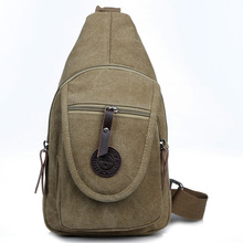 Wholesale China Wholesale Factory Direct Canvas Sling Chest Pack ...
