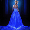 DS009 designer one piece bridal gowns pictures high-end glowing beauty bridal suzhou factory wedding dress