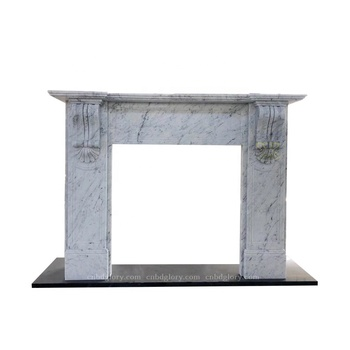 Stone Carving Products Low Price Marble Fireplace Mantel