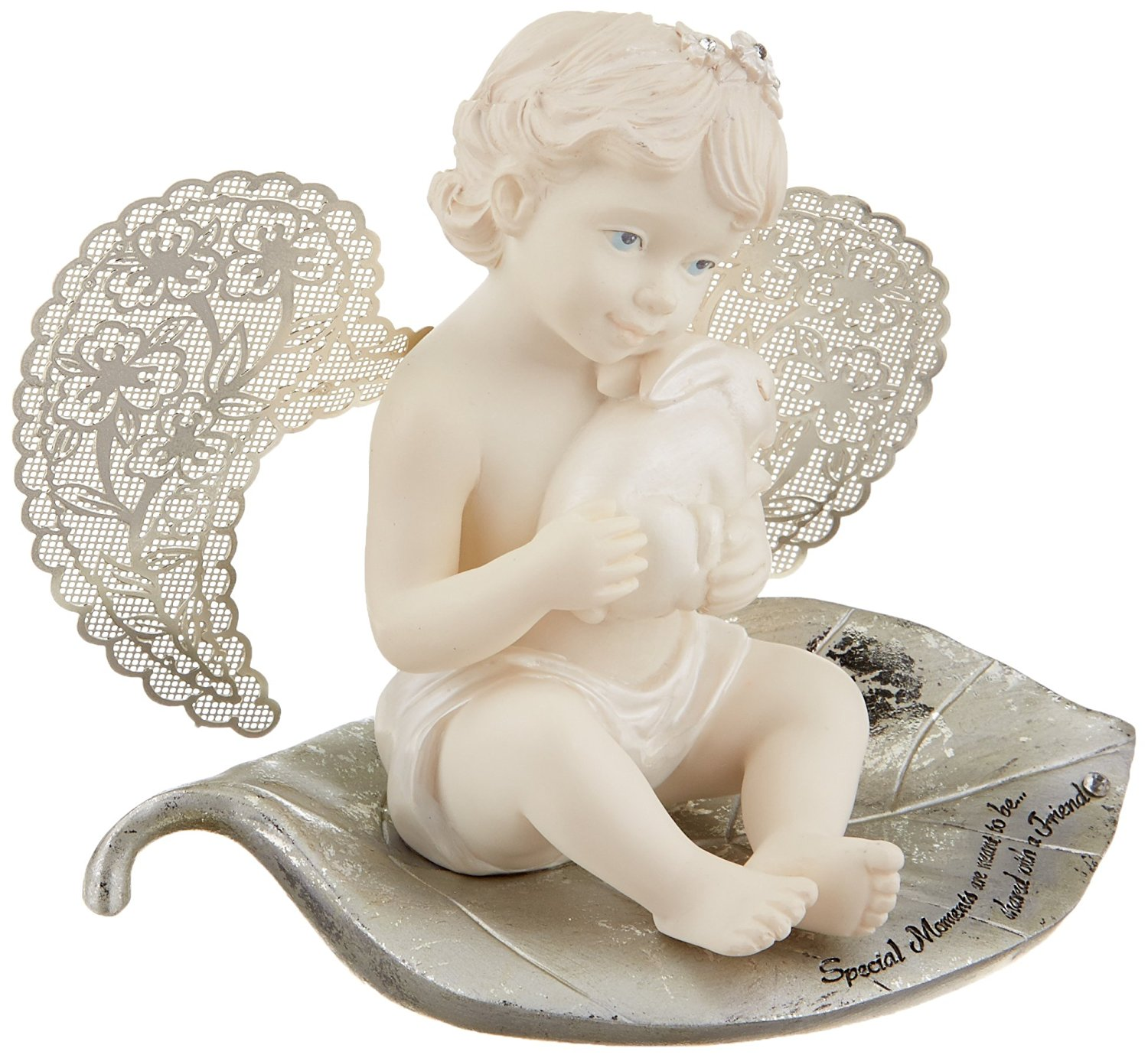 Little Things Mean A Lot Special Moments Angel Figurine, 3-1/2-Inch