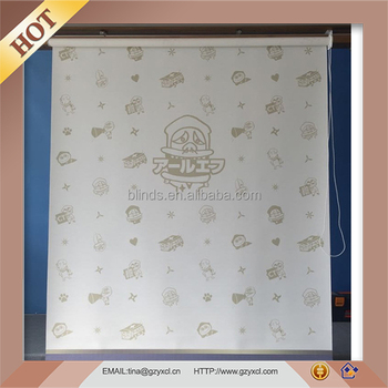 Customized Sunscreen/blackout Polyester Printed Roller Blind
