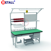 Detall antistatic table esd work table for electronics