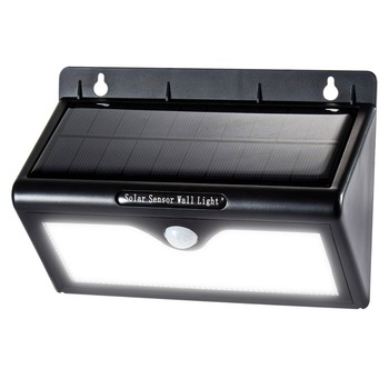 Super Brightest Pure white Solar Motion Sensor LED Light Outdoor 3 Intelligent Mode solar light