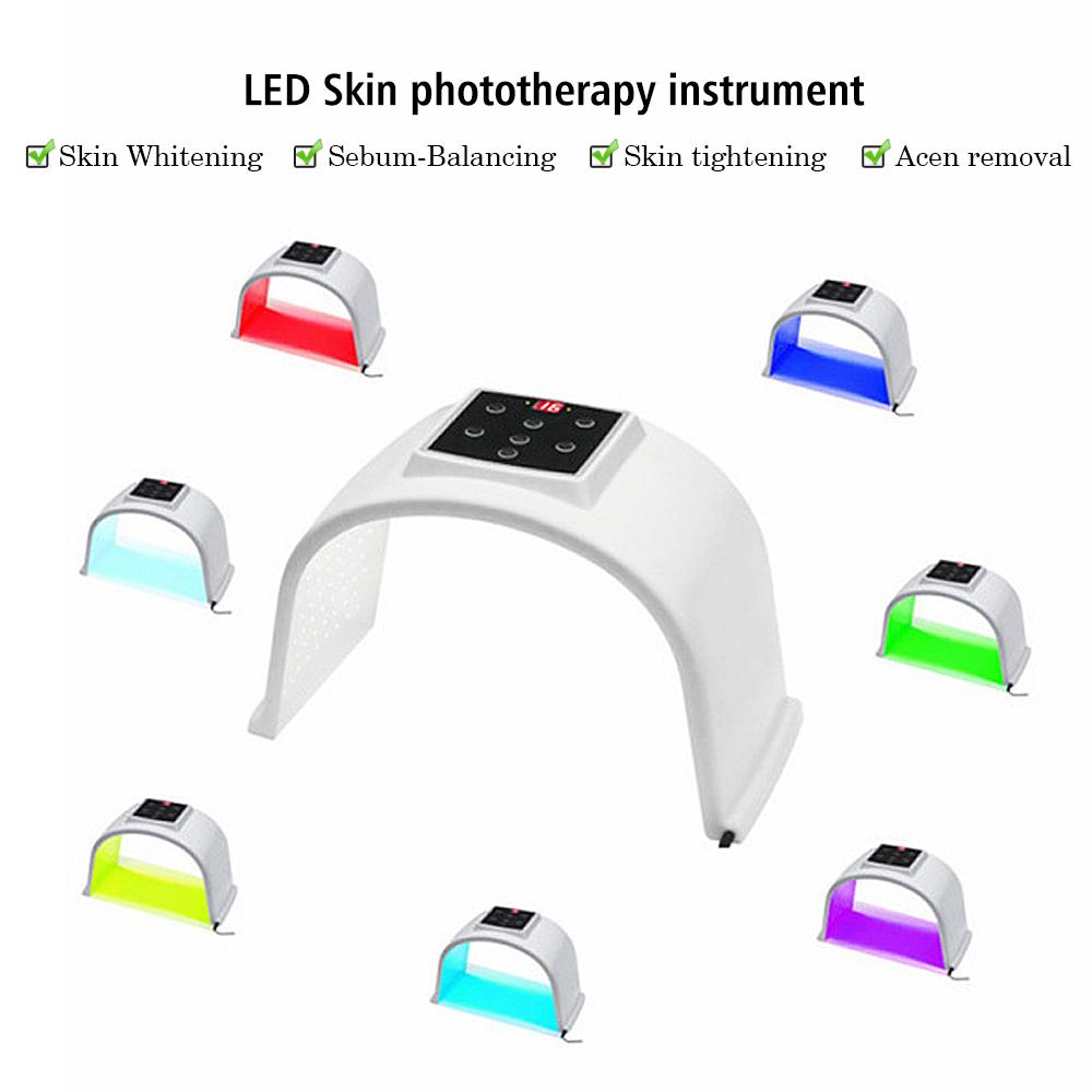 2 治療ヘッド pdt led ライト療法機械