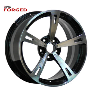 Deep Dish Alloy Car Rims AMG Rims Chrome 5 Spoke Wheels