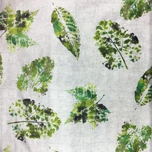 2018 Latest Leaf Design Polyester Chintz Fabric Upholstery By the Yard african print fabric