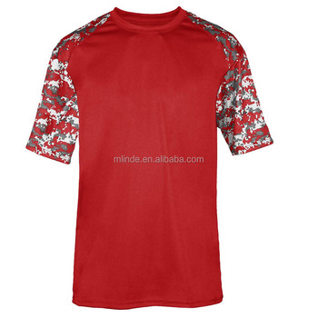 Sport New Pattern T-Shirts Short Sleeves Sublimated Digital Tee Digital Sport Youth Tshirt For Gym