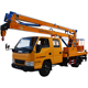 16M Aerial work operation platform beam lifter truck