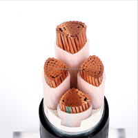Low voltage Copper 4 core 35mm underground power cable