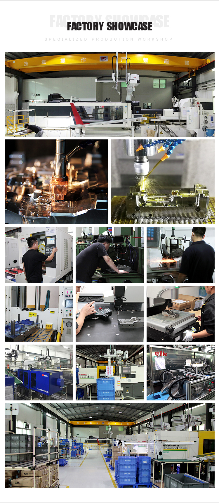 Customized plastic shell Injection molding factory in Guangzhou