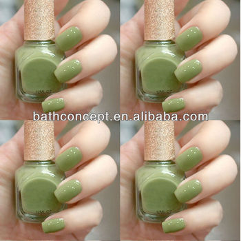 Pistachio Light Green Nail Polish
