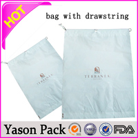Yason custom plastic bag plastic heat sealed bag for lily power perforated food bag
