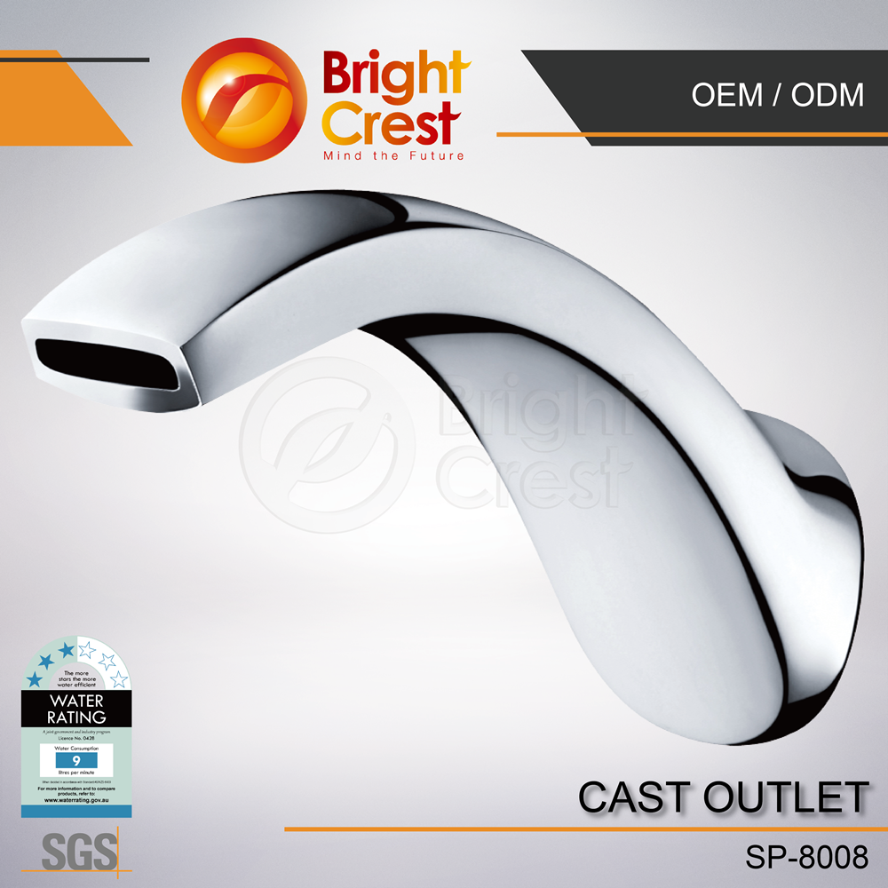 New fashion 61-9 germanium kitchen Shower Faucet for Netherlands